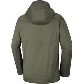 Columbia Inner Limits Jacket Men Peatmoss/Backcountry Orange